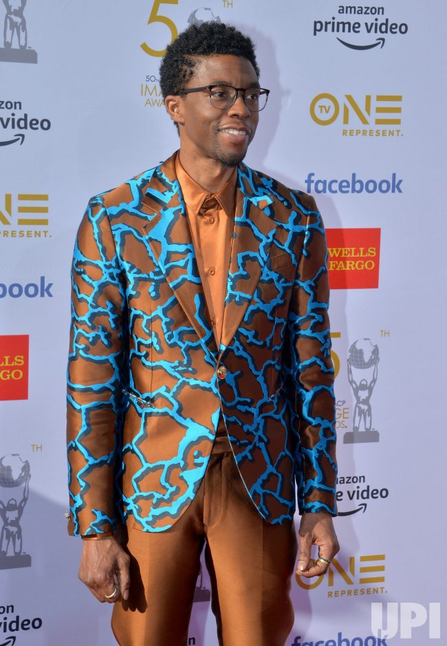 Chadwick Boseman Attends The 50th Naacp Image Awards In