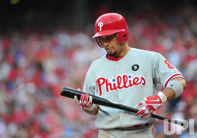 Phillies Shane Victorino in Washington
