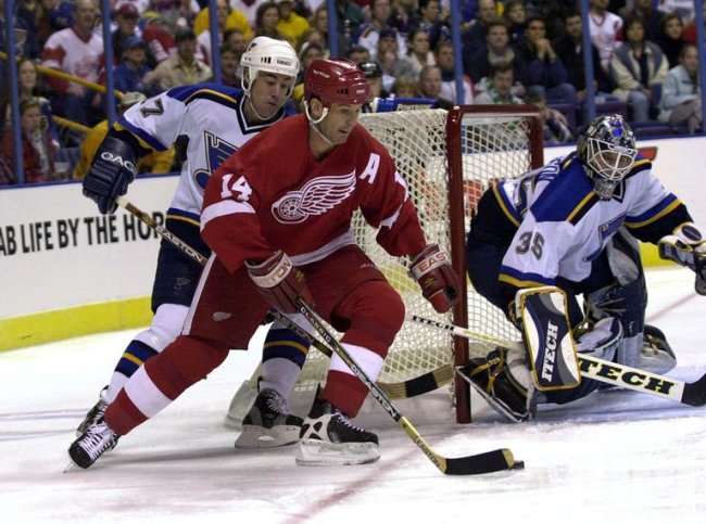 St. Louis Blues vs Detroit Red Wings NHL hockey