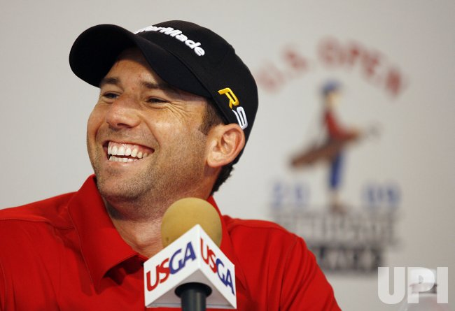 Sergio Garcia Press Conference for 2009 U.S. Open at Bethpage Black in New York