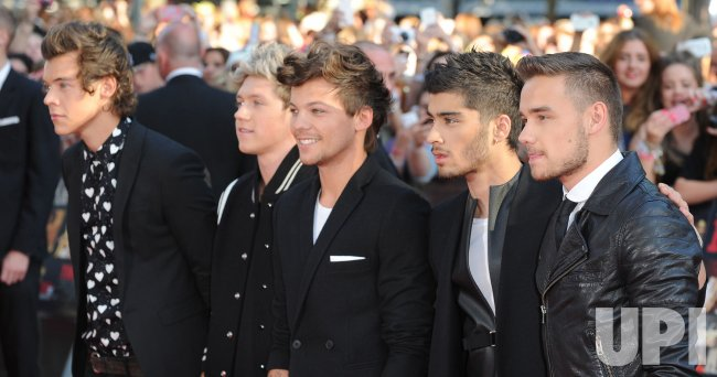 "The World premiere of ""One Direction - This Is Us"" in London"