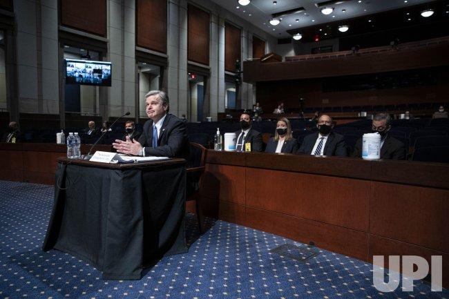 FBI Director Wray Testifies on Capitol Attack in Washington