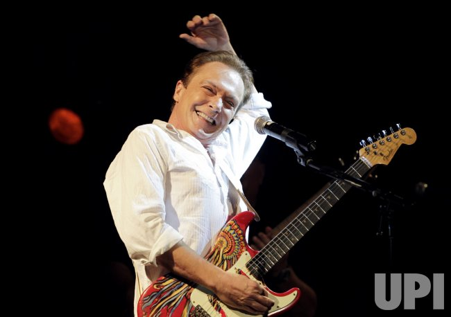 David Cassidy performs at B.B. Kings in New York