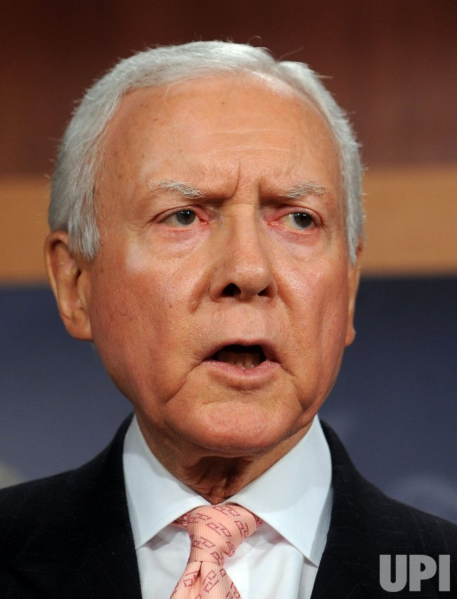 Sen. Hatch introduces balanced budget amendment in Washington