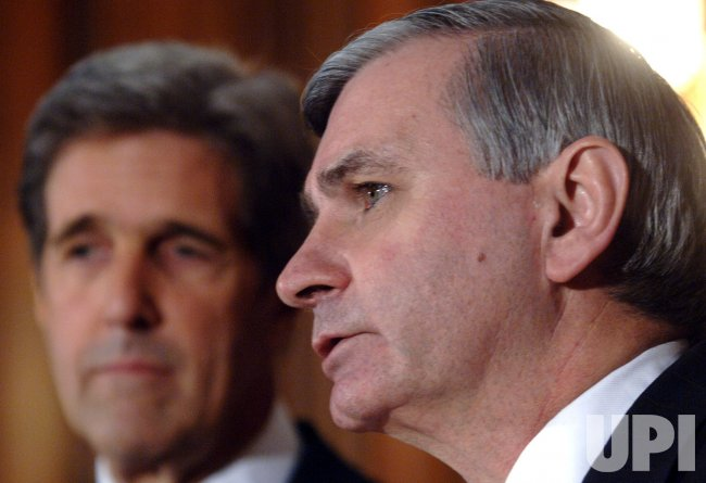 SEN. REED AND KERRY SPEAK ON BUSH'S SPEACH ON IRAQ
