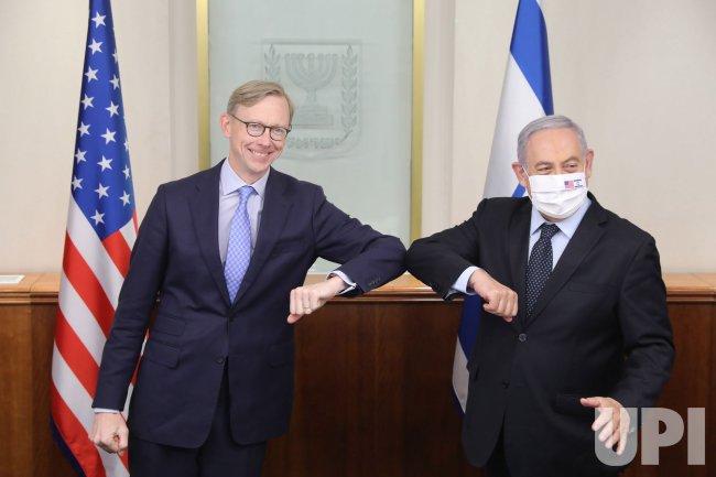 U.S. Special Representative for Iran Brian Hook Visits Israel