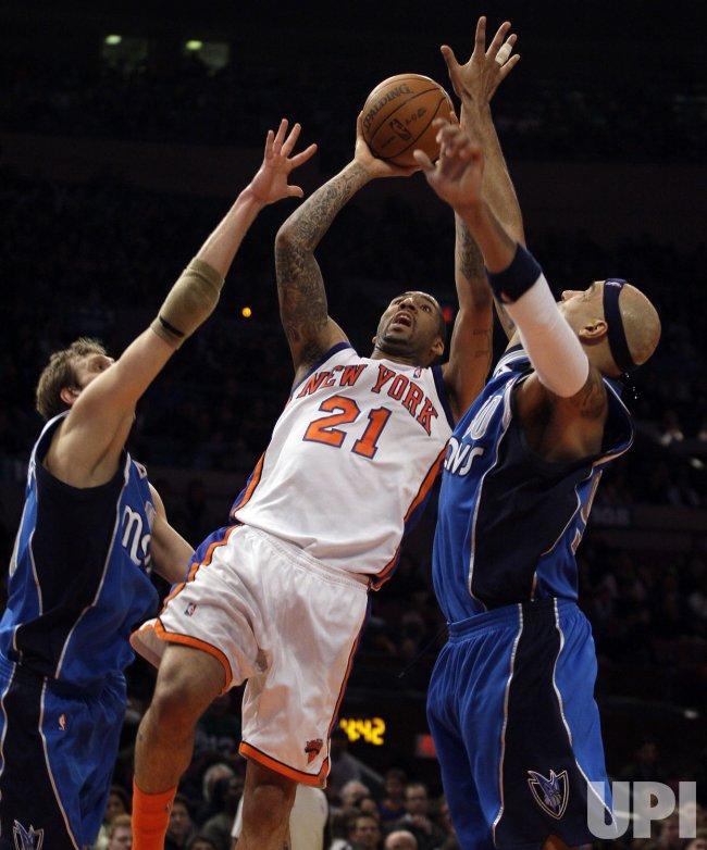 New York Knicks Wilson Chandler at Madison Square Garden in New York
