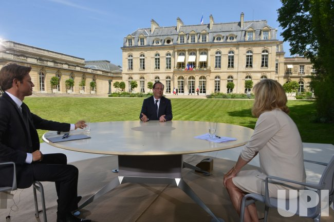 2013 Annual Bastille Day Presidential Interview in Paris
