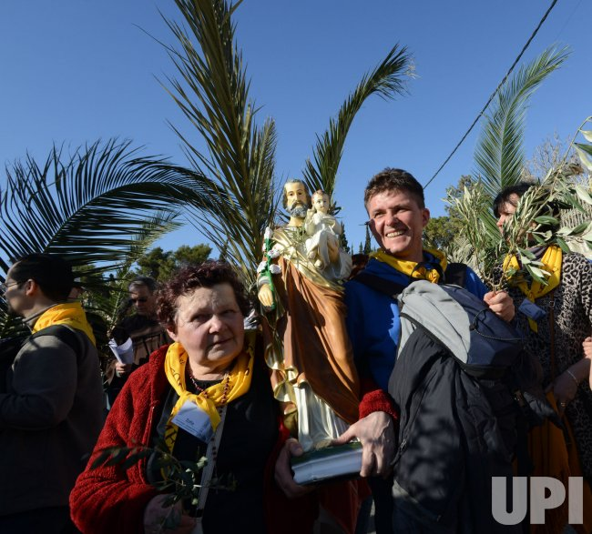 Palm Sunday Procession, Jerusalem