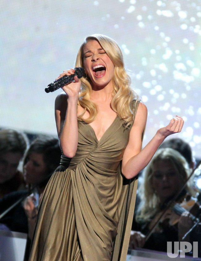Leann Rimes performs during the CMA Country Christmas Special in Nashville