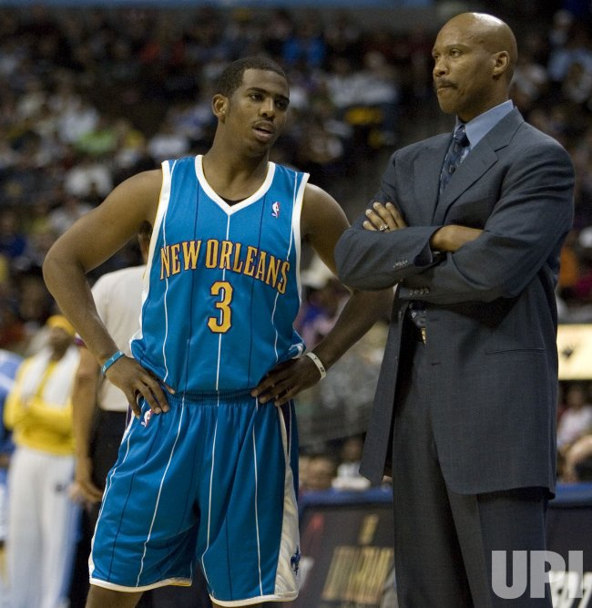 NBA Denver Nuggets host New Orleans Hornets