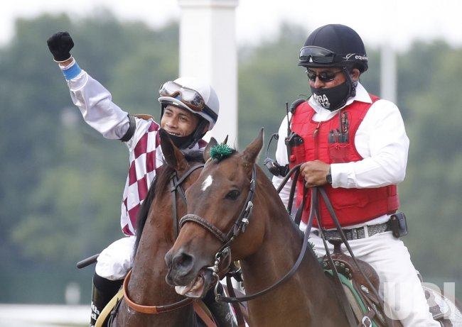 Tiz the Law wins the Belmont Stakes in New York