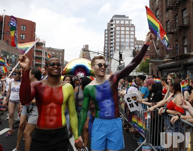 NYC Pride Week annual parade in New York