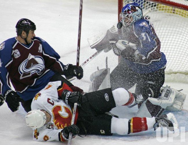NHL CALGARY FLAMES VS COLORADO AVALANCHE
