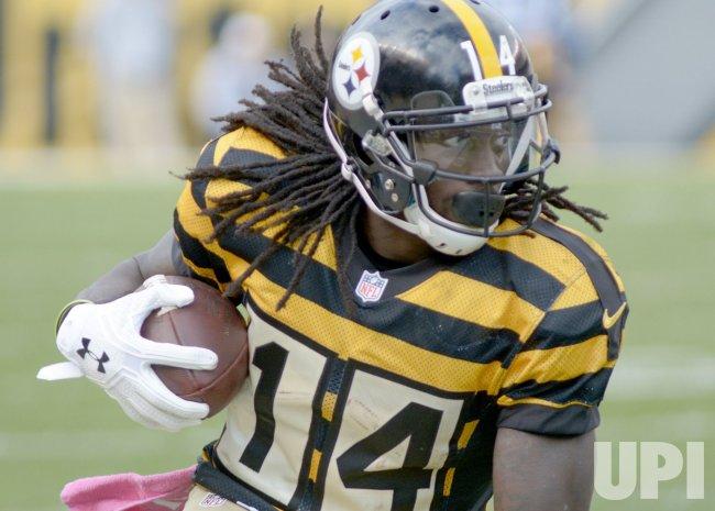 Steelers Receiver Sammie Coates Gains 14 yards on Reception