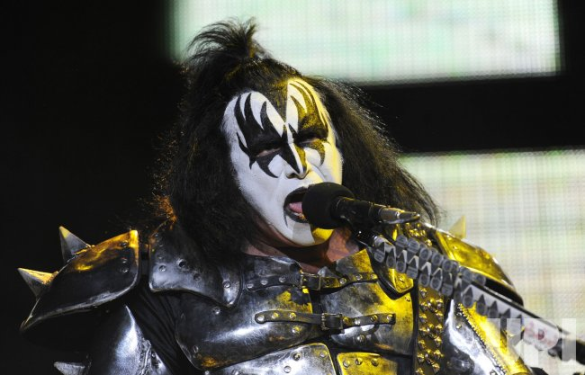 Kiss perform in London
