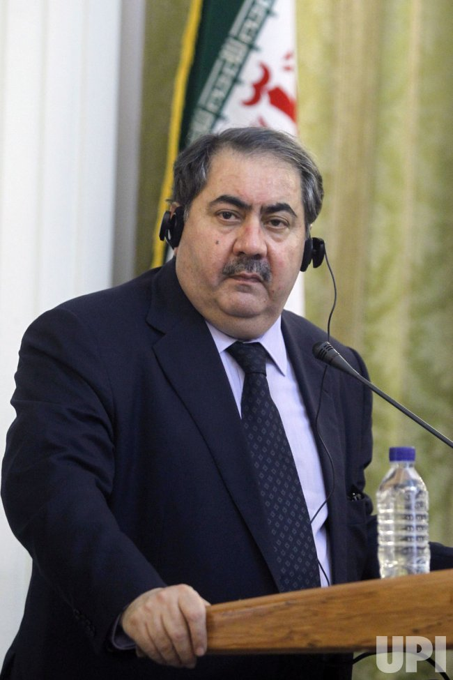 Iraqi Foreign Minister Hoshyar Zebari visits Iran