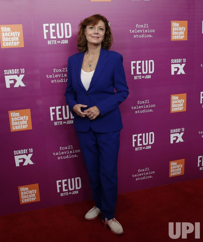 Susan Sarandon at Bette And Joan' event in New York