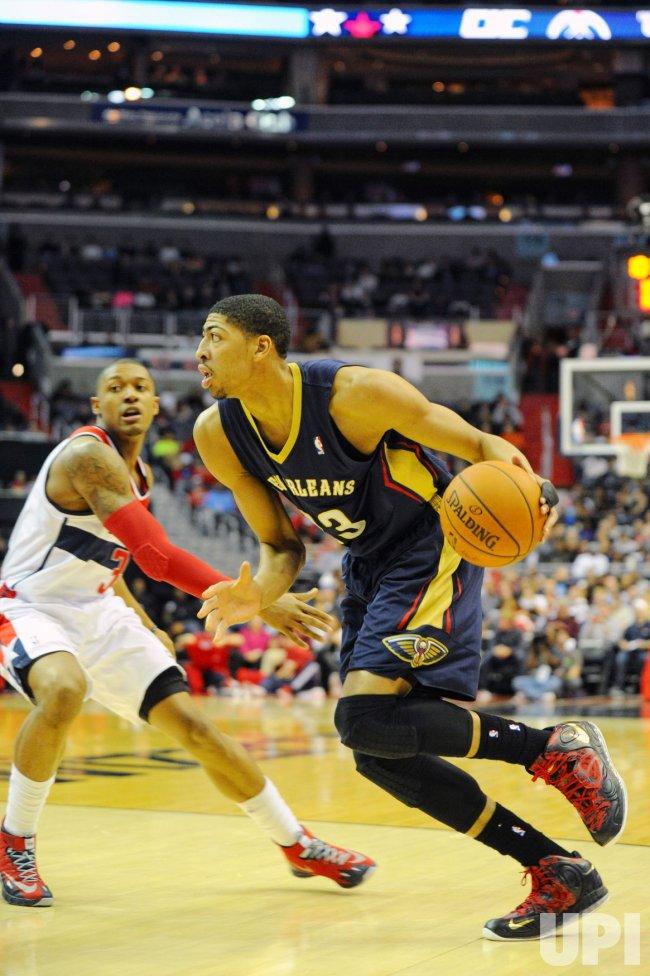 Washington Wizards vs New Orleans Pelicans in Washington
