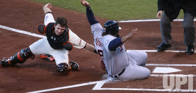 Detroit Tigers vs. San Francisco Giants Game 2 World Series