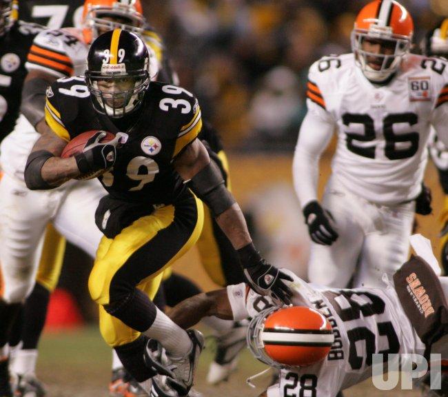Pittsburgh Steelers Vs Cleveland Browns Upi Com