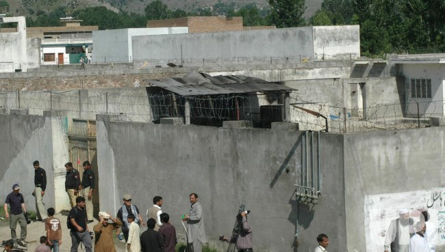 The compound of Osama bin Laden in Abbottabad