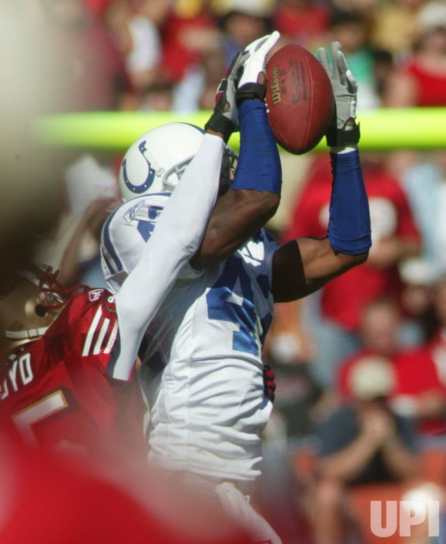 SAN FRANCISCO 49ERS VS INDIANAPOLIS COLTS