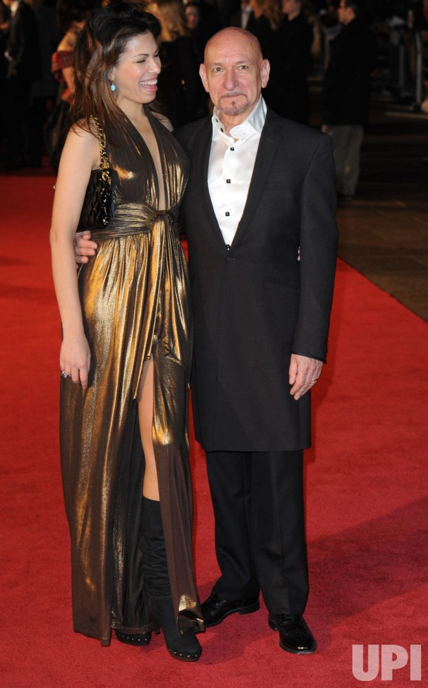 """Ben Kingsley and Daniela Barbosa attend """"King's Speech"""" premiere"""