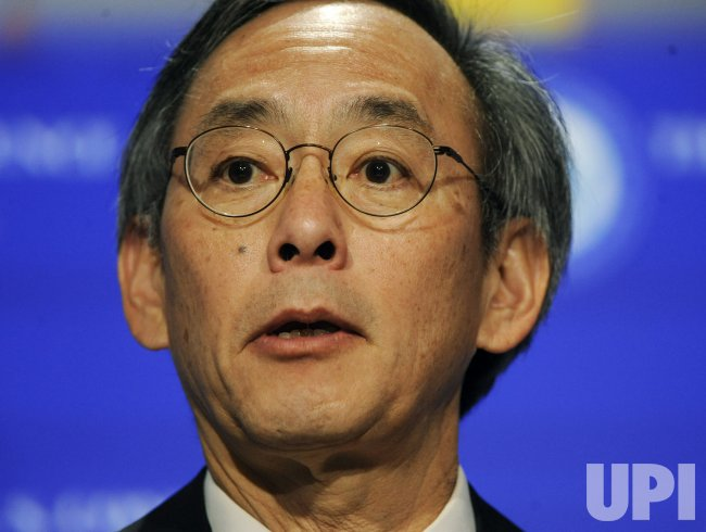 Secretary of Energy Dr. Steven Chu speaks at U.S. Conference of Mayors in Washington