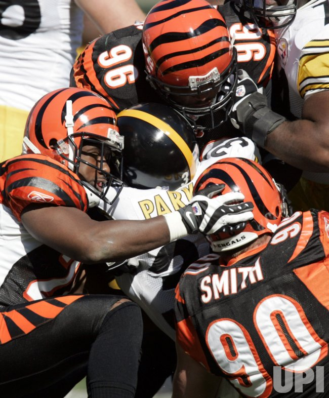 NFL Football Pittsburgh Steelers vs Cincinnati Bengals