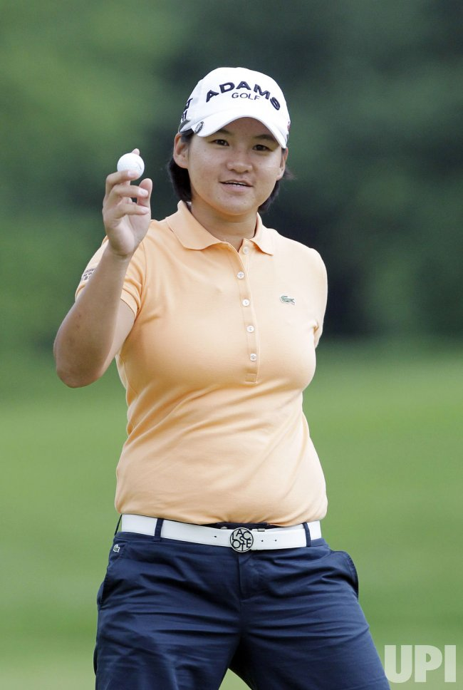 Yani Tseng plays in the third round of the Wegmans LPGA Championship at Locust Hill Country Club in New York