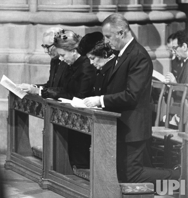 Harry S. Truman eulogized at National Cathedral in Washington