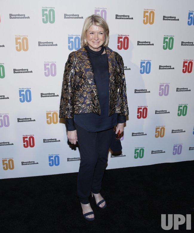Martha Stewart at 'The Bloomberg 50