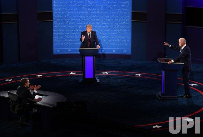 Trump and Biden Meet in First Presidential Debate
