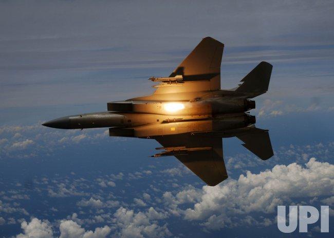 U.S. Air Force F-15C Eagle aircraft