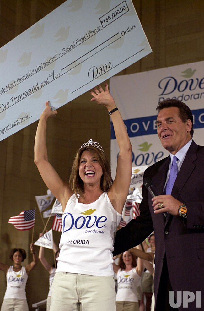 Dove Deodorant sponsors America's Most Beautiful Underarms contest