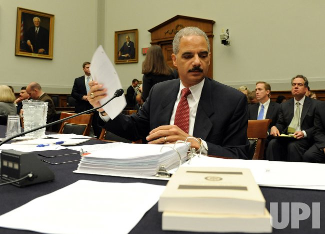 House committee questions Att. Gen. Holder in Washington