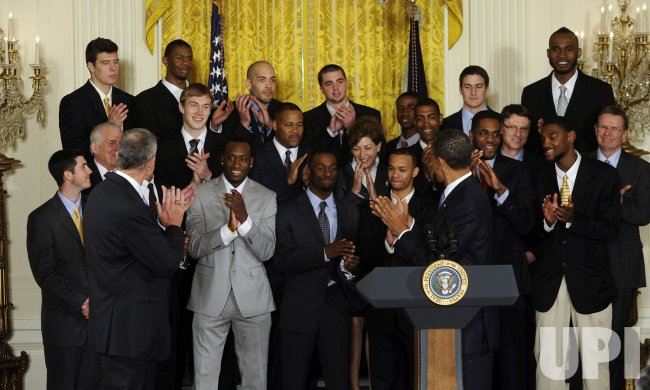 President Obama hosts NCAA Men's Basketball champion University of Connecticut at White House