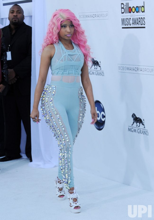 Nicki Minaj arrives at the 2011 Billlboard Music Awards in Las Vegas