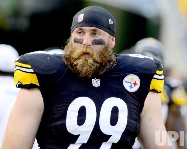 Pittsburgh Steelers defensive end Brett Keisel in Pittsburgh