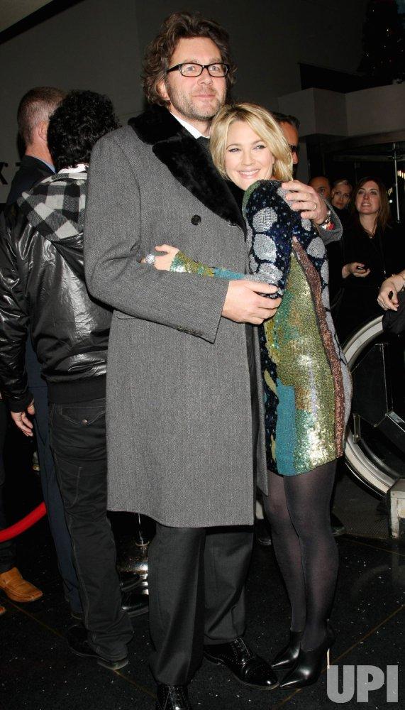 "Drew Barrymore and Kirk Jones attend ""Everybody's Fine"" premiere held in New York"