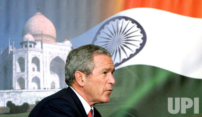 PRESIDENT BUSH IN INDIA