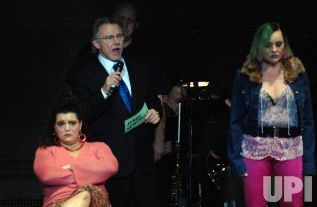 "Harvey Keitel stars in New York production of ""Jerry Springer the Opera"""