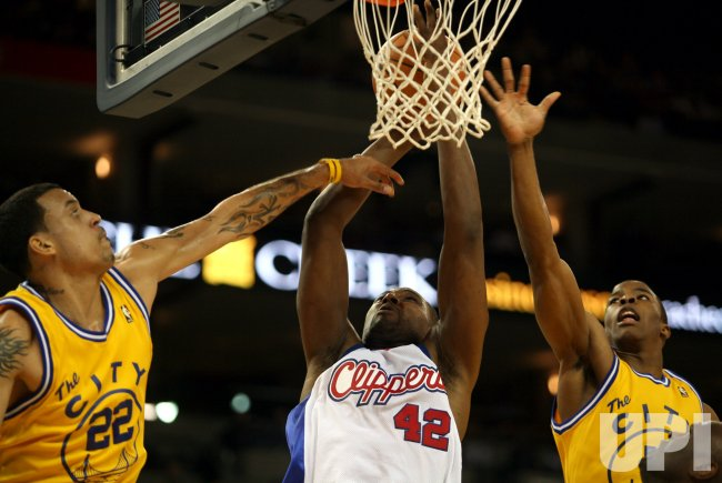 LOS ANGELES CLIPPERS AT THE GOLDEN STATE WARRIORS