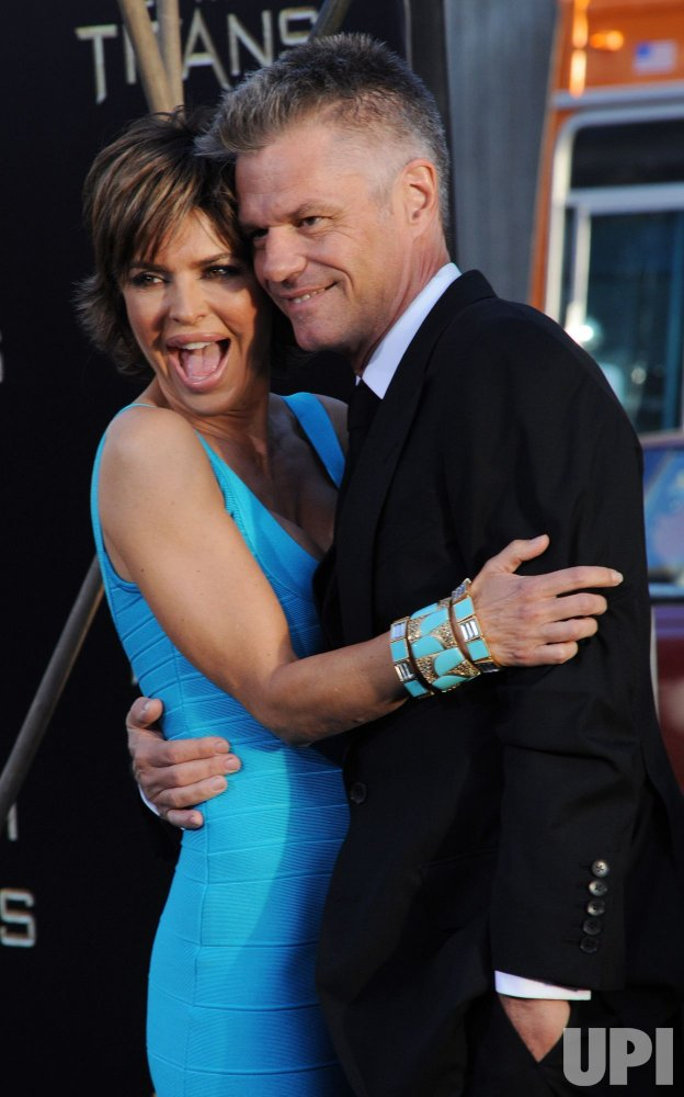 "Lisa Rinna and harry Hamlin attend the ""Clash of the Titans"" premiere in Los Angeles"