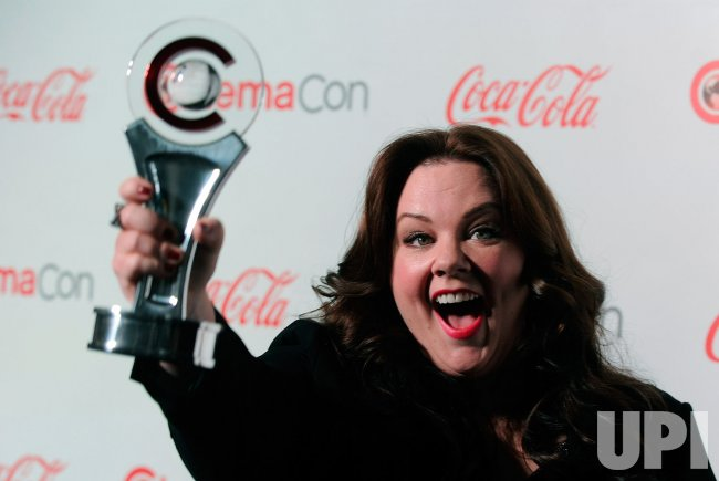 Melissa McCarthy arrives at the 2013 CinemaCon Awards Ceremony in Las Vegas