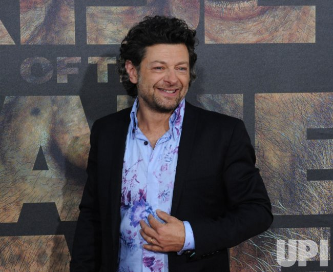 "Andy Serkis attends the ""Rise of the Planet of the Apes"" premiere in Los Angeles"