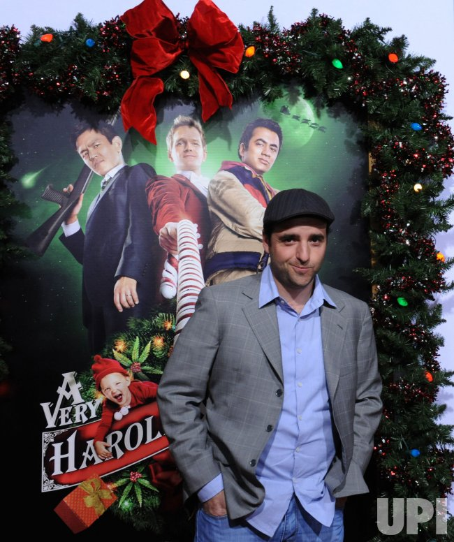 david krumholtz and vanessa britting attend the premiere of a very harold kumar 3d - Harold And Kumar 3d Christmas