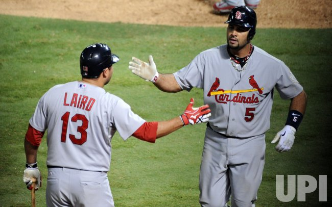 Pujols hits three homers in game 3 of the World Series in Texas