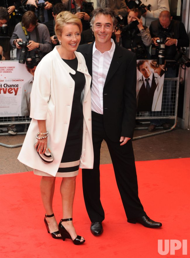 """Last Chance Harvey"" premiere in London"